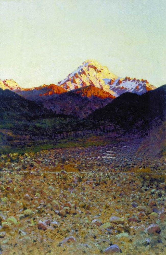горы в живописи: