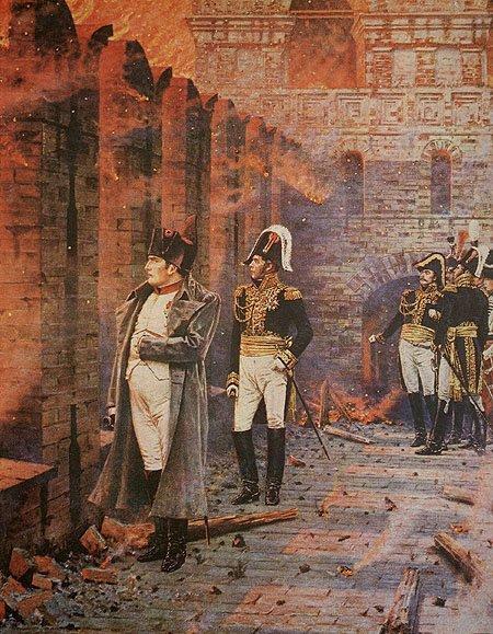 лет назад началась Отечественная Война года в Лемберге  Пожар Москвы